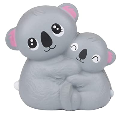 Xuways SquishiesToy Mini Adorable Koala-Combination Slow Rising Scented Stress Reliever Toys for Children Adilt (A): Home & Kitchen