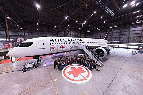Phoenix Models Air Canada B787-9 Olympic Games C-FRSR 1:400 Scale - Part Number (Canada Aircraft Replica)