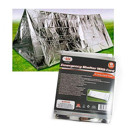 Outdoor Emergency Tent Blanket Sleeping Bag Survival Reflective Shelter Camping by Unknown