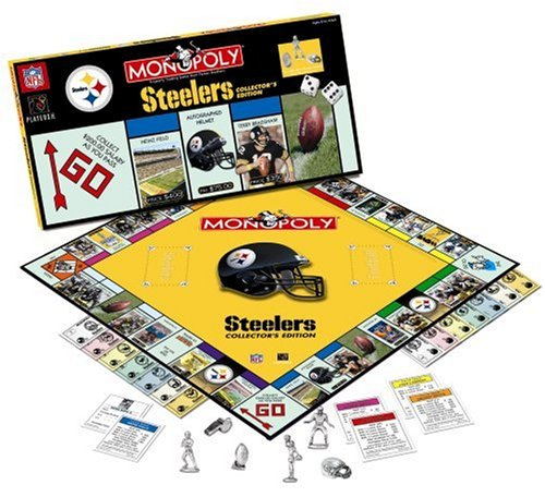 Pittsburgh Steelers Monopoly Game by USAopoly