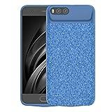Scheam Xiaomi Mi 6 5500mAh Battery Case Slim Rechargable Back case Shock Absorption Protective Portable Charging Case Xiaomi Mi 6 5500mAh (Blue)