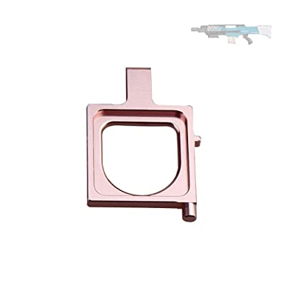 WORKER Releaser Replacement Injection Molding Rose Gold Part for Nerf Longshot CS-12 Modify Toy: Toys & Games