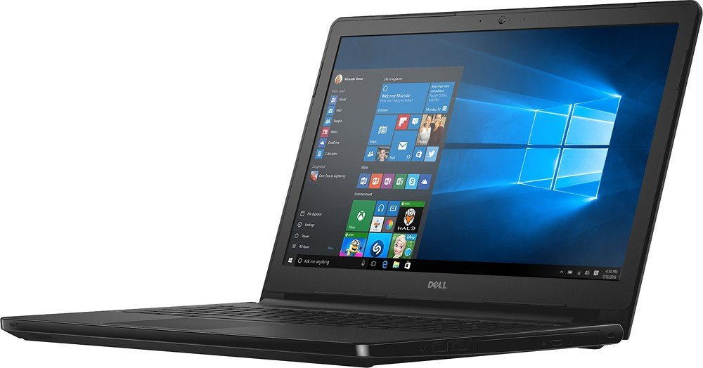 Dell Inspiron 15 5000 15.6'' Touchscreen Laptop, Latest Intel Core i3-7100U with 2.4GHz, 6 GB DDR4 RAM, 1 TB HDD, HDMI, DVD-RW, Bluetooth, Webcam, MaxxAudio Pro - Win 10 by Dell