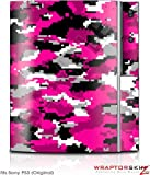 Sony PS3 Skin WraptorCamo Digital Hot Pink