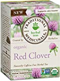 Traditional Medicinals Organic Red Clover Herbal Tea, 16 Tea Bags (Pack of 6)