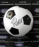 Pele autographed Soccer Ball (Wilson Model Futbol signed in black)