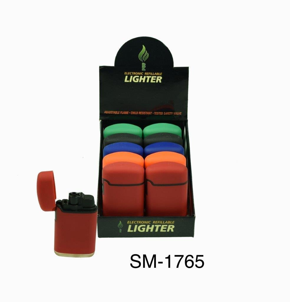 2 x Jet Flame Lighters - Windproof Lighters - Refillable Gas Lighter (Assorted Colours) UniversalSavings