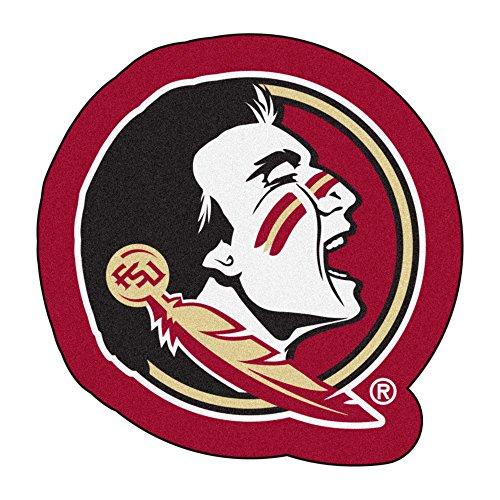 FANMATS NCAA Florida State University Seminoles Nylon Face Mascot Rug ()