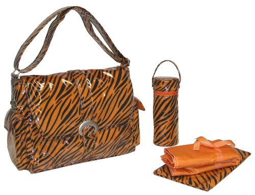 kalencom-a-step-above-buckle-bag-tiger-fur-black-orange