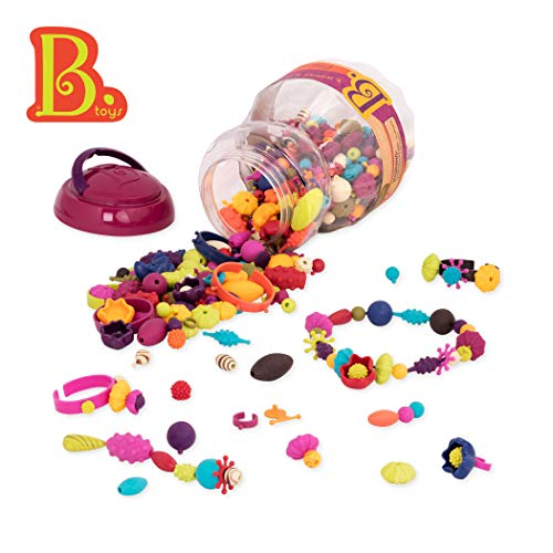 Pop Art Girl Costume (B Toys - (500-Pcs) Pop Snap Bead Jewelry - DIY Jewelry Kit for)