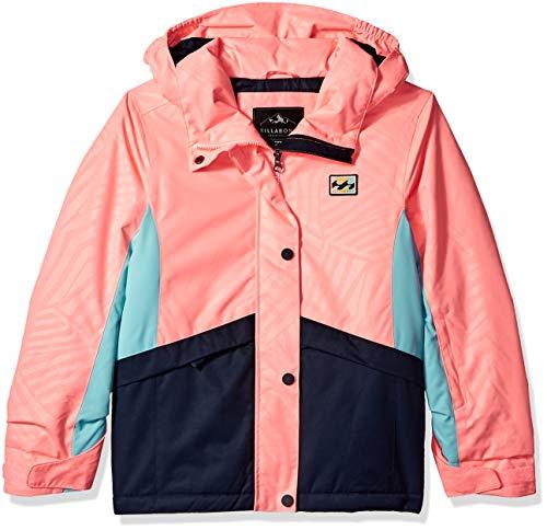 Billabong Snow - Billabong Big Kayla Girls Insulated Snow Jacket, Peach, M