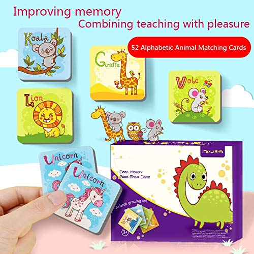 BLACK-PEARL Baby Flash Cards Kids Educativos Fun English Word Flash Card Baby Learning Educational English Table Game Puzzle S by BLACK-PEARL
