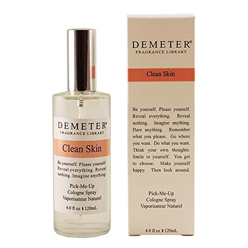 Price comparison product image Demeter Clean Skin Cologne Spray for Unisex,  4 Ounce