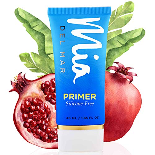 Silicone-Free Makeup Primer - Marvelous Coconut Oil, Vitamin E, Tapioca Starch Improve Skin Texture & Appearance of Pores. Flawless Makeup Application. Vegan And Clean Skin Care.