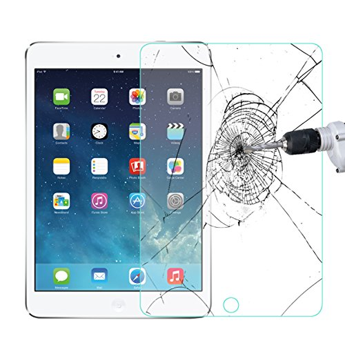 Sunlight Supply Tempered Glass (iPad Mini 1 2 3 Screen Protector, Abestbox 9H HD Premium Tempered Glass for iPad Mini1 / Mini2 / Mini3, Ultra Thin (0.26mm), 99.9% Light Transmission, Most Durable)