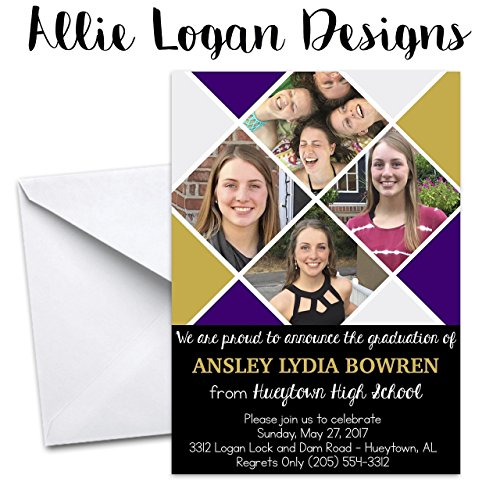 Graduation Personalized Announcement and/or -