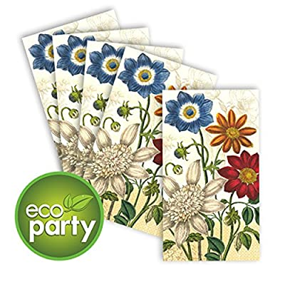 Amscan Vintage Garden 2-Ply ECO Guest Towels, 16 Ct. | Party Tableware: Toys & Games