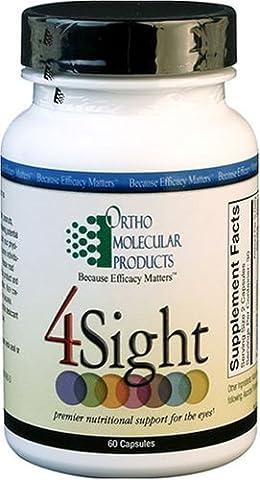 Ortho Molecular Products 4 Sight Capsules, 60 Count (Ortho Molecular Glutathione)
