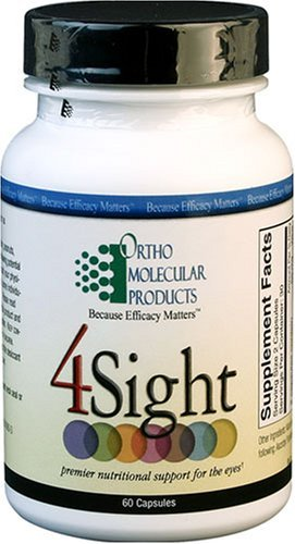 Ortho Molecular Products 4 Sight Capsules, 60 Count by Ortho Molecular