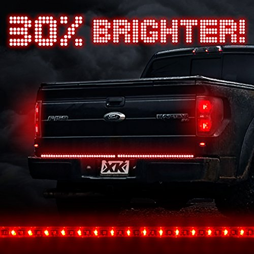 Led brake light strip amazon 60 waterproof 5 function 92 led strip tailgate bar brake reverse running turn signal light truck suv for ford f150 chevy silverado gmc sierra toyota tundra aloadofball Gallery