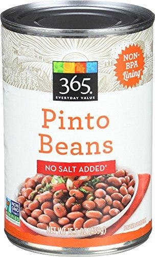 365 Everyday Value  Pinto Beans No Salt Added  15 5 Oz