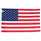American Flag 3×5 | 100% Made in the USA | Heavy Duty | Embroidered Stars & Sewn Stripes | 210D Oxford Nylon | Quadruple Stitched Fly End | Brass Grommets for Easy Display | U.S. Flag | P/N 35EMBUS Review