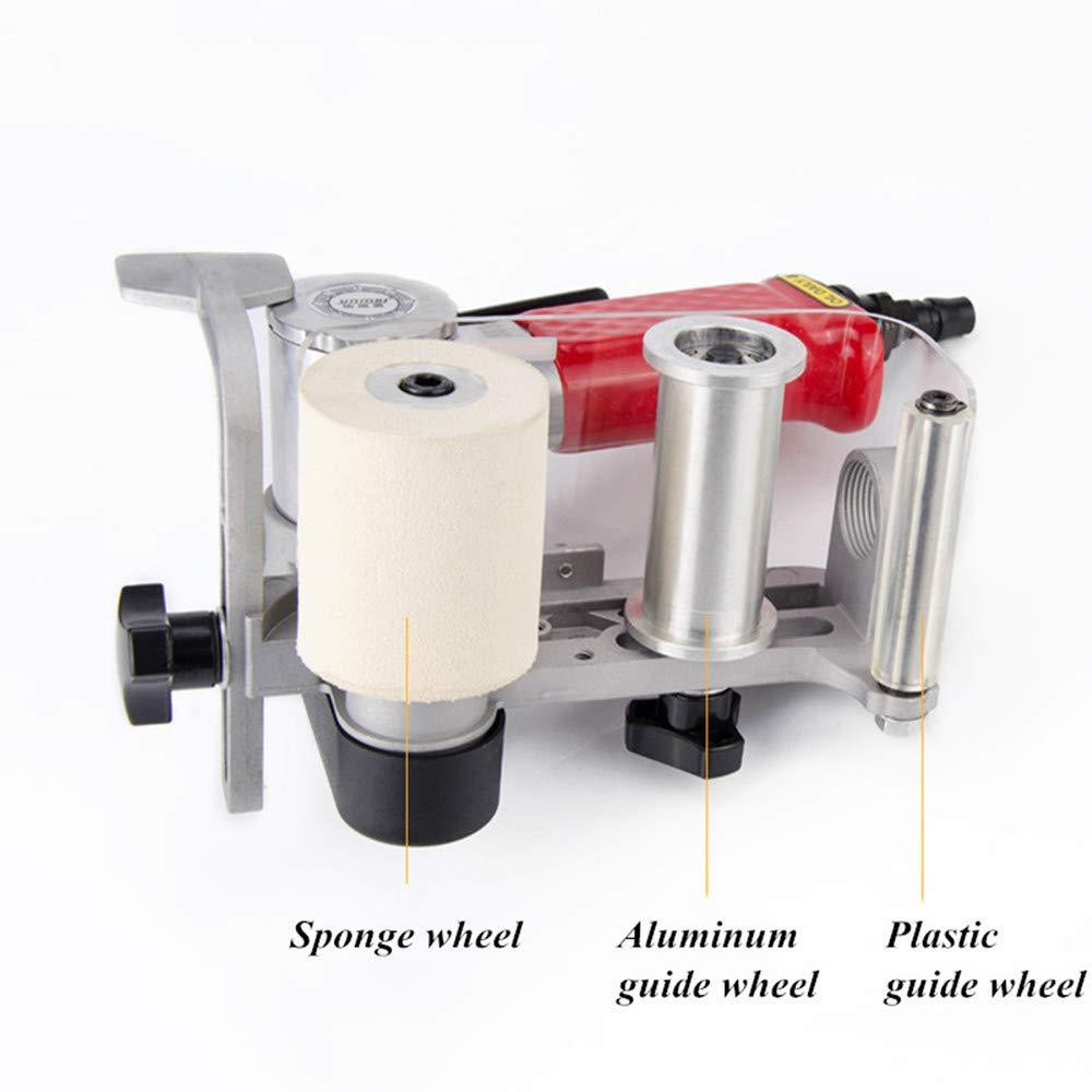 Grinder Metal Stainless Steel Polisher Sandpaper Machine Polishing Machine T-king Pneumatic Wire Drawing Machine Belt Machine