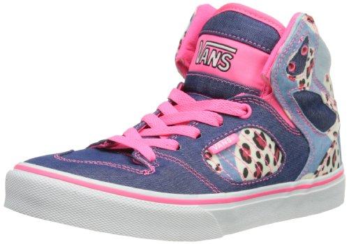 Vans Allred - Zapatillas de deporte para niños unisex Azul/rosa (Blue/Pink)