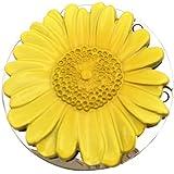 Purse Hook, Sunflower Foldable Handbag Purse Hanger Hook Holder for Table (Yellow)