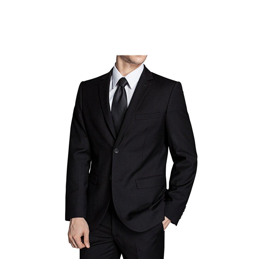 577Loby Men Business Suit Slim Fit Classic Male Suits Blazers Suit Two Buttons 2 Pieces(Suit Jacket+Pants) by 577Loby (Image #4)