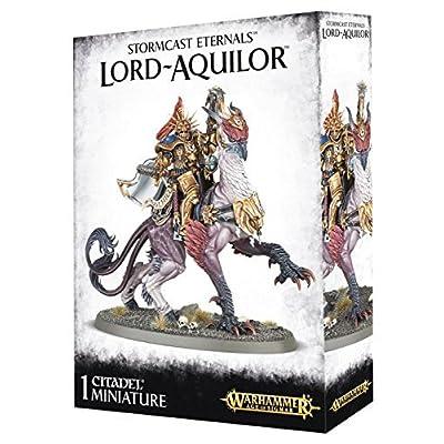 Games Workshop Warhammer Age of Sigmar Stormcast Eternals Lord-Aquilor: Toys & Games