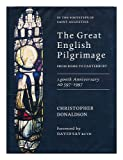 The Great English Pilgrimage from Rome to Canterbury, Christopher Donaldson, 1853110647