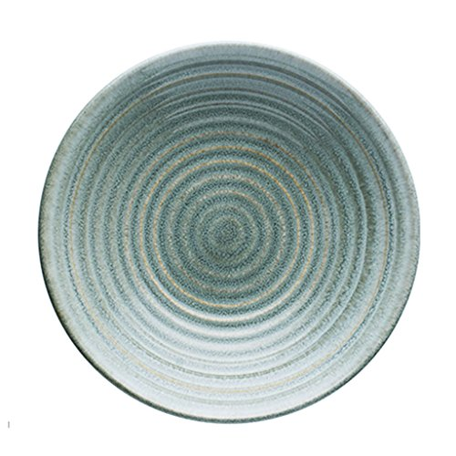 Japanese style Pasta Bowls Ceramic Salad Bowls Noodle Bowls Rice Bowls Soup Bowls Home Garden Kitchen Cooking Dining Tableware Dishware Serving Pieces Bowls (Color : (Painted Garden Green Plate)