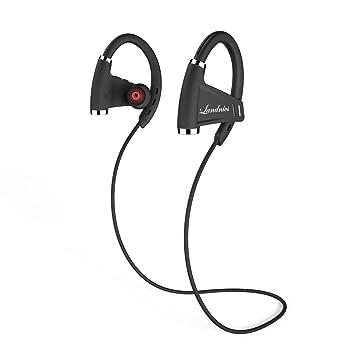 Auriculares Bluetooth 4.1 Impermeable IPX7, Deportivos Inálambrico Sonido Estéreo 12 Horas de Reproducción Micrófono Incorporado
