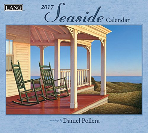 Lang 2017 Seaside Wall Calendar, 13.375 x 24 inches (17991001877)