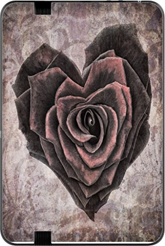 Vintage Rose Heart Kindle Fire HD 8.9in Vinyl Decal Sticker Skin by Moonlight Printing (Kindle Fire Hd Decal Skin compare prices)