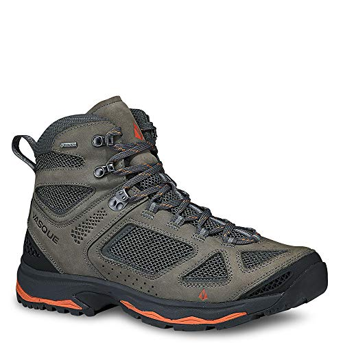 Vasque Breeze III GTX Hiking Boot - Men's Gargoyle/Rust, 10.0