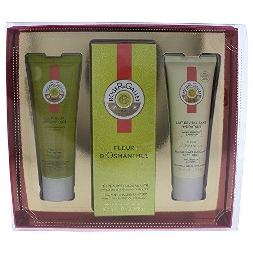 Gallet Sandalwood Soap (Roger & Gallet Fleur D'osmanthus 3 Piece Gift Set for Women)