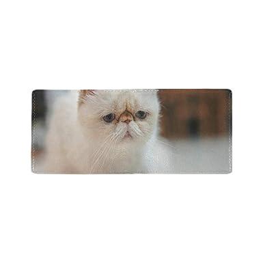 Amazon.com: Cute Upset - Funda de billetera con diseño de ...