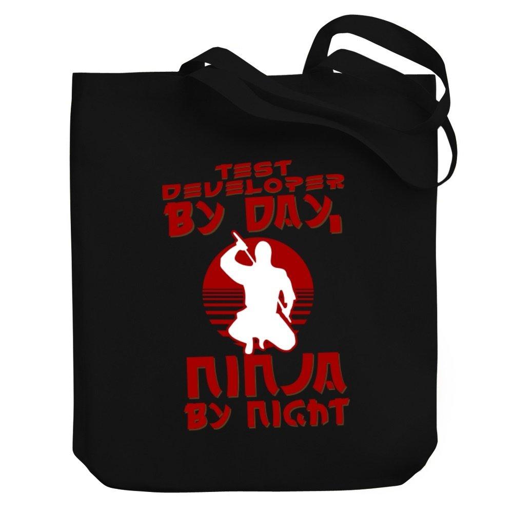 Teeburon Test Developer by Day, Ninja by Night Bolsa de Lona ...