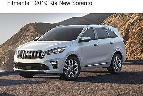 Chrome Rear Trunk Garnish Molding 1pcs for 2019 KIA Sorento