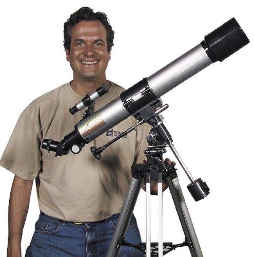 Silver TwinStar 70mm Refractor Telescope by Twin Star