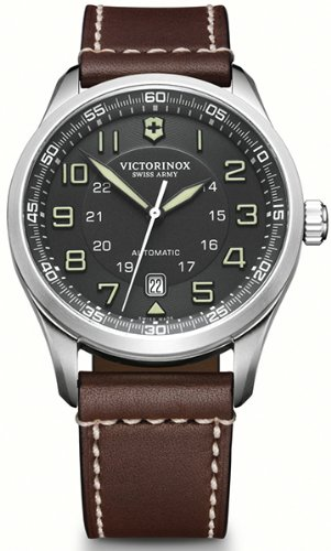 Victorinox-airboss-V241507-Mens-mechanical-hand-wind-watch