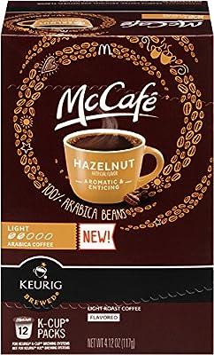 McCafe Hazelnut K Cup Pods, 4.12 Ounce
