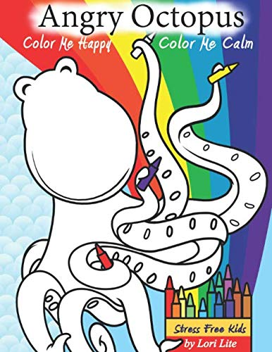 Angry Octopus Color Me Happy, Color Me