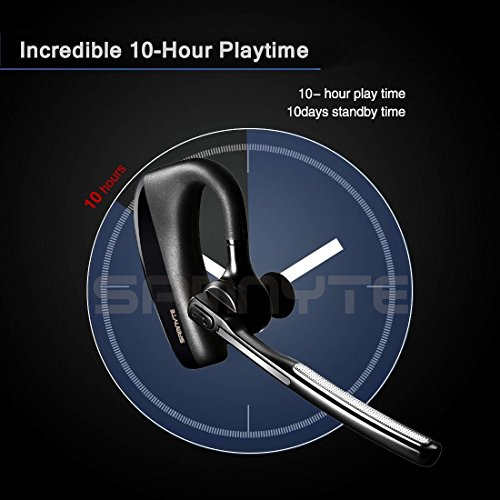 durable service Bluetooth Headset, 10Hrs Talk Time V4 1