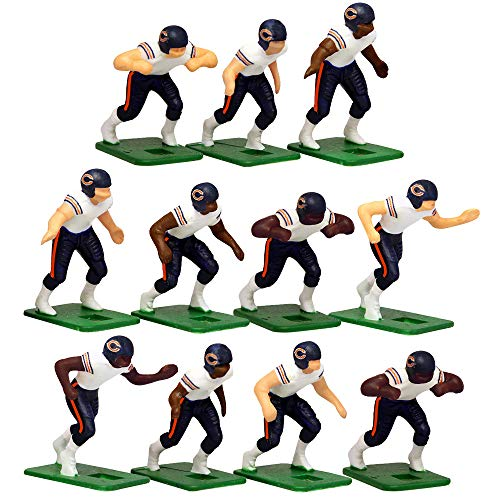 Chicago Bears Away Jersey NFL Action Figure Set