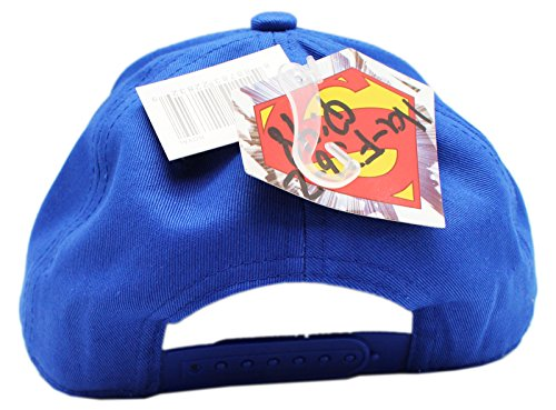DC Comics Superman Torso Curved Bill Youth Snapback Baseball Cap