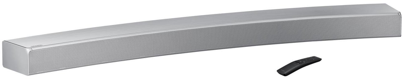 Samsung Sound+ HW-MS6500 - Barra de Sonido inalámbrica Curva (Bluetooth, Wi-Fi), Plateado