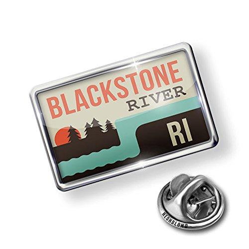 Blackstone Pin - NEONBLOND Pin USA Rivers Blackstone River - Rhode Island
